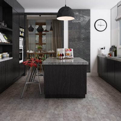 ClickLoc Tile Carrara Slate Grey Flooring