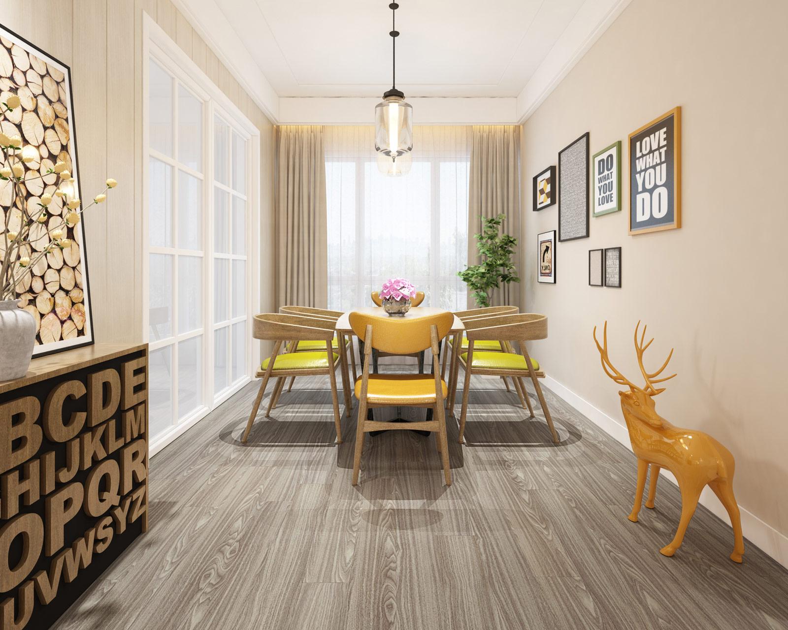 ClickLoc Walnut Flooring