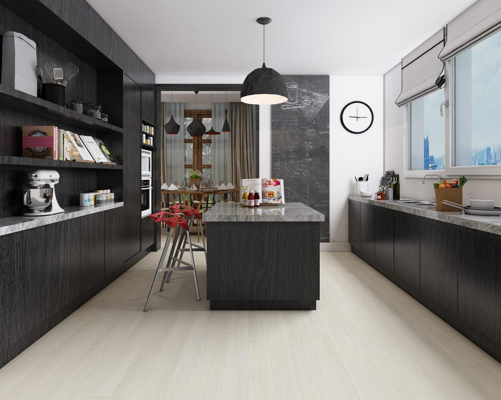 ClickLoc Warm Ash Flooring
