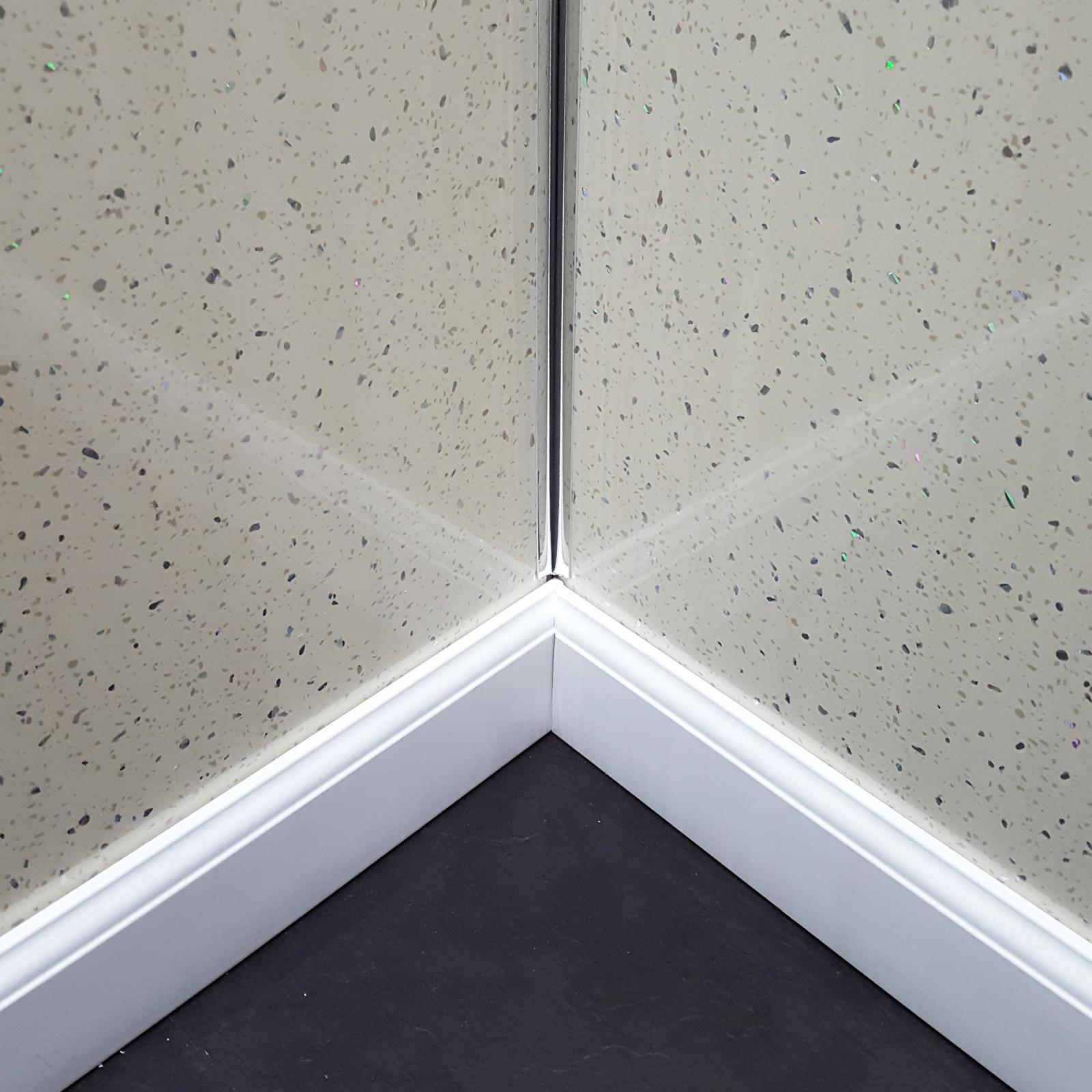 Titan cream sparkle decorative waterproof pvc wall panels titan decor panel cream sparkle dailygadgetfo Images