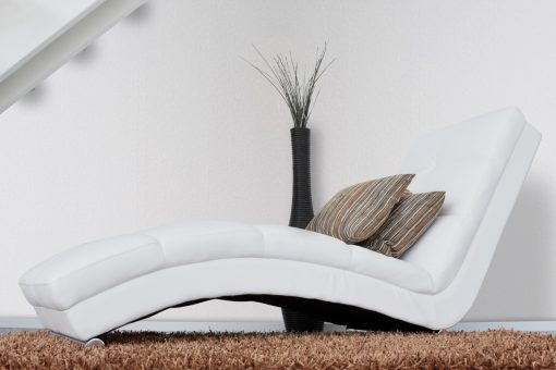 Frost White Couch Stairs