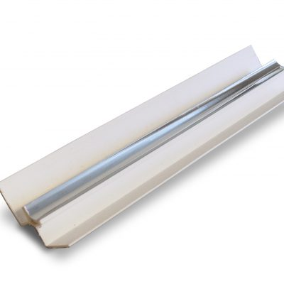 PVC Silver Internal Corner Panel Trim