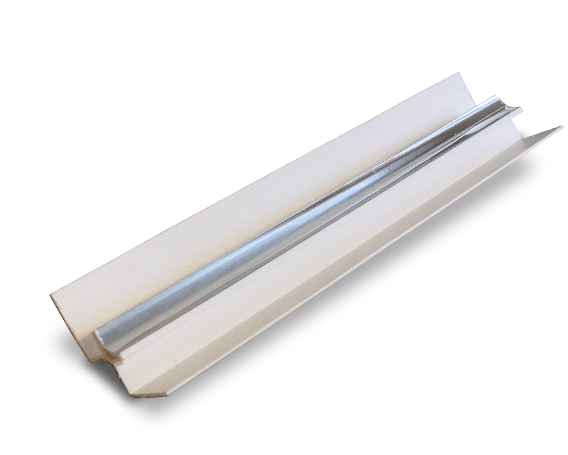 PVC Silver Internal Corner Panel Trim