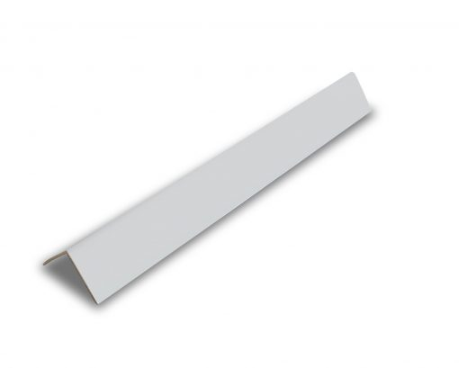 PVC Rigid Angle - White Panel Trim