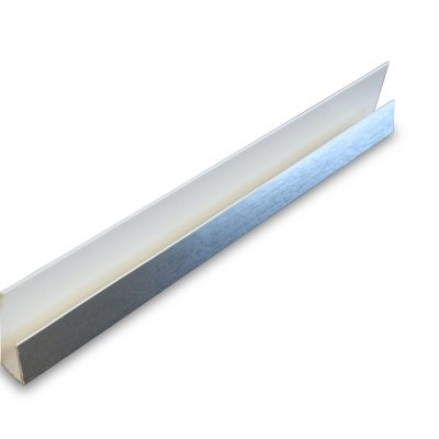 PVC Silver Starter Panel Trim End Cap