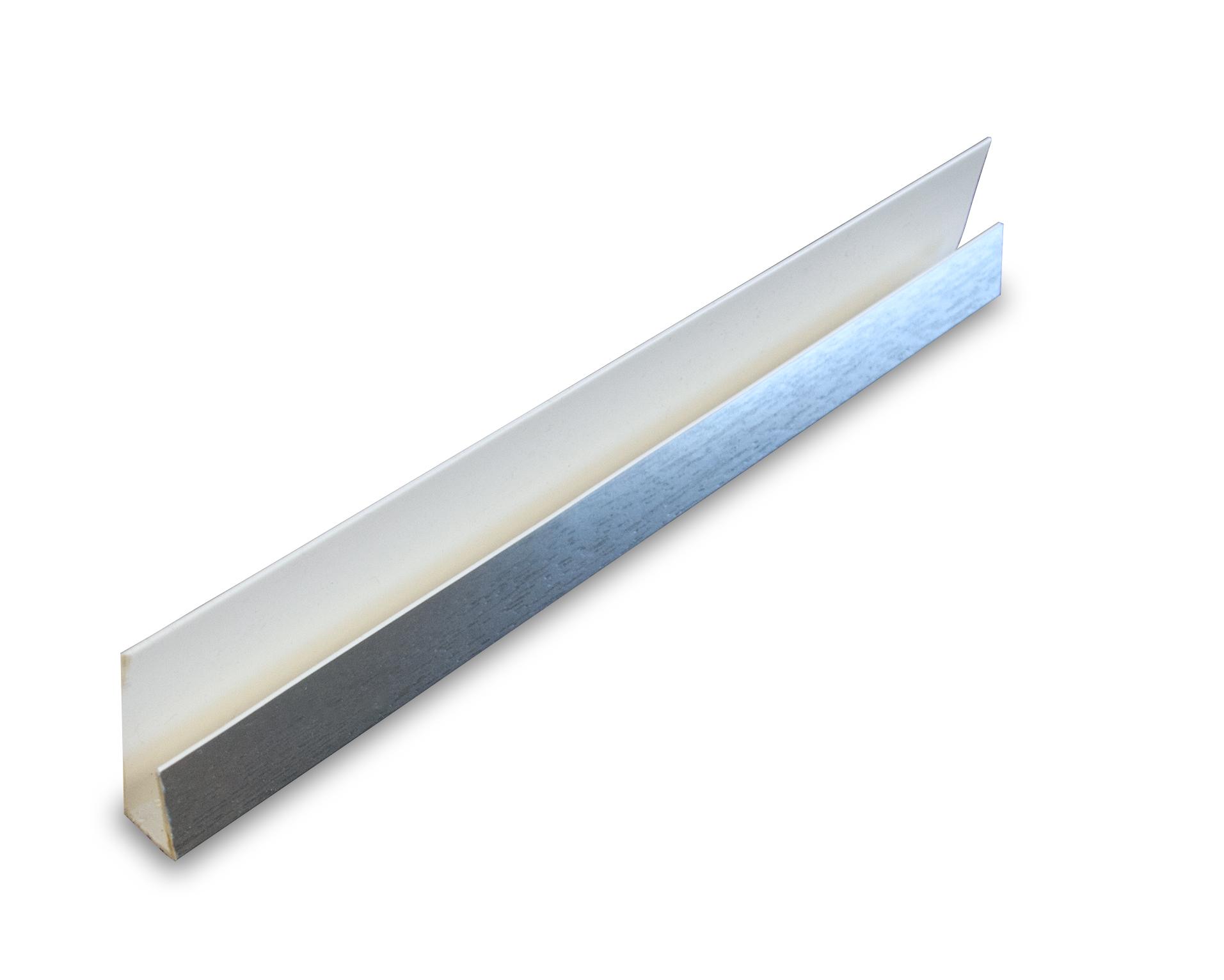 PVC Silver Starter Panel Trim End Cap
