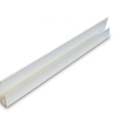 PVC White Starter Panel Trim End Cap