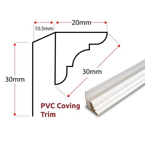 PVC Coving Trim Panel Trim 1