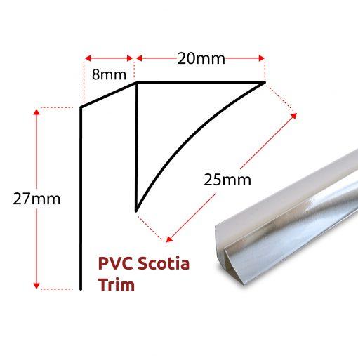 PVC Scotia Panel Trim