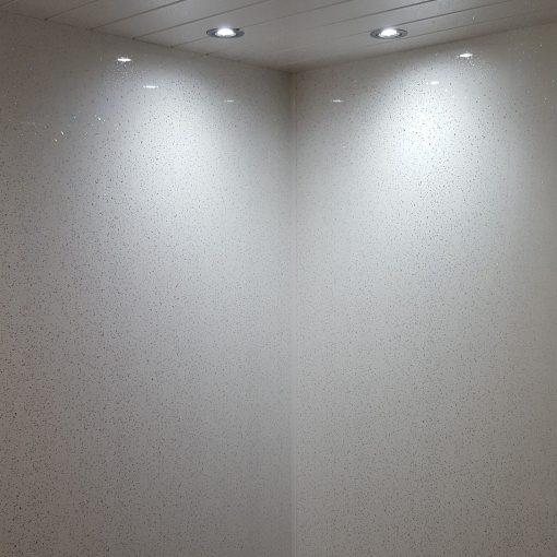 TITAN Decor Panel White Sparkle