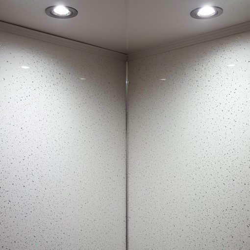 TITAN Decor Aquamax White Sparkle Metre Wide