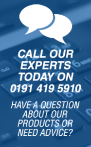 Have a Question? Call our Experts today on 0191 419 5910