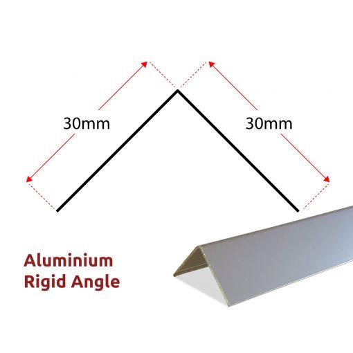 TITAN Panels Aluminium Rigid Angle Dimensions