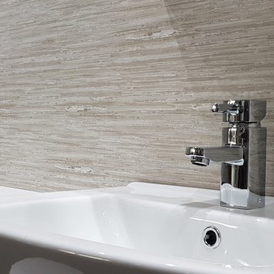 Aquamax Gloss Driftwood Showerwall Panel