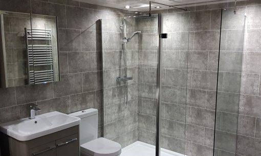 TITAN Flagstone Graphite Tile