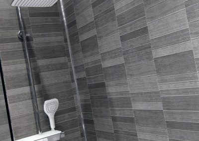 Graphite Small Tile Decorative Wall Panels