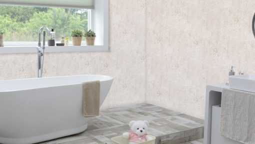 Aquamax Beige Granite Bathroom Wall Panel