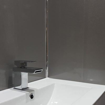 Grey Shimmer Sink