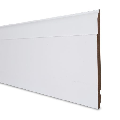 125mm x 2500mm or 5000mm Reversible PVC Skirting Board - Side-B
